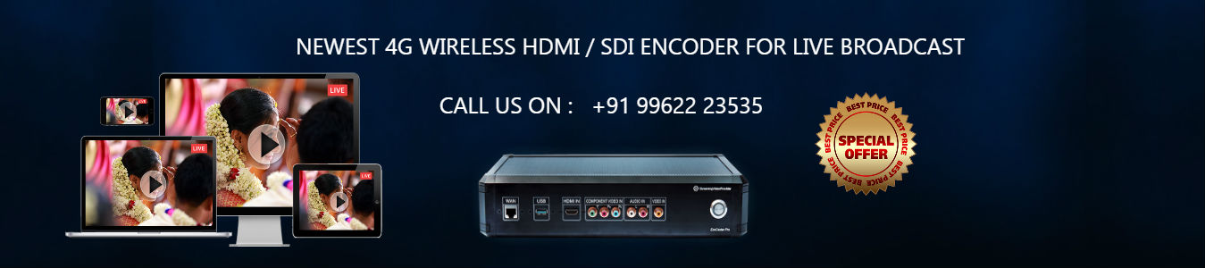 HDMI HD Video Streaming Encoder
