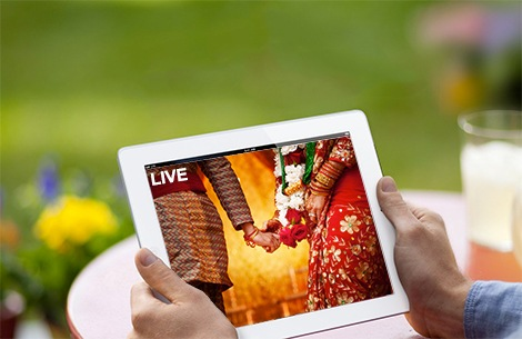 marriage live streaming cost hyderabad